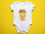 Sleepy Monster Baby Romper
