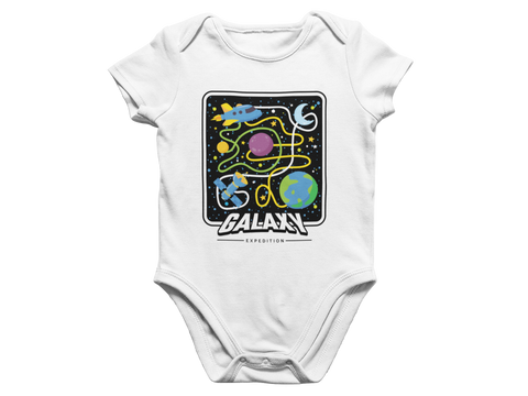 In the Galaxy Baby Romper
