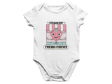 Strawberry Friends Baby Romper
