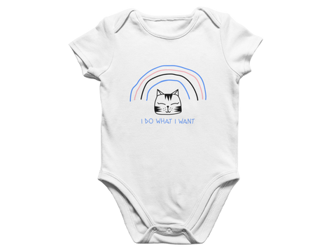 Do what Kitty Wants Baby Romper