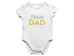 Team Dad Baby Romper