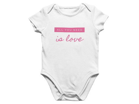 Need Love Baby Romper