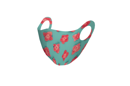 Pixilish Flower Power Mask
