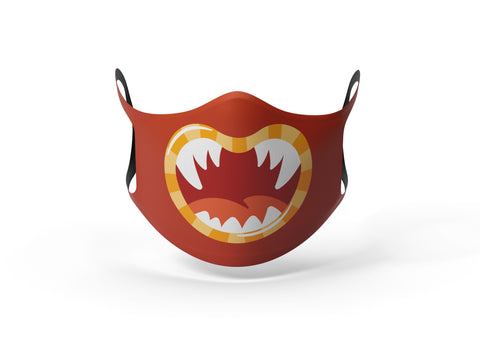 Pixilish Monster Fangs Mask
