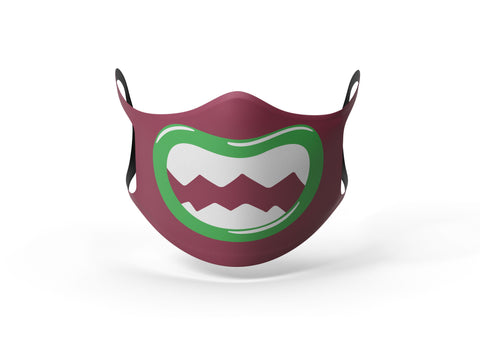 Pixilish Monster Maroon Mask