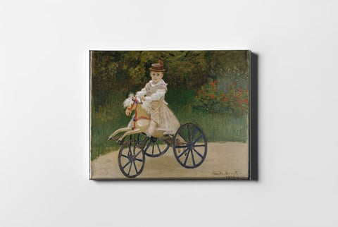 Jean Monet 1867 to 1913 On His Hobby Horse Claude Monet