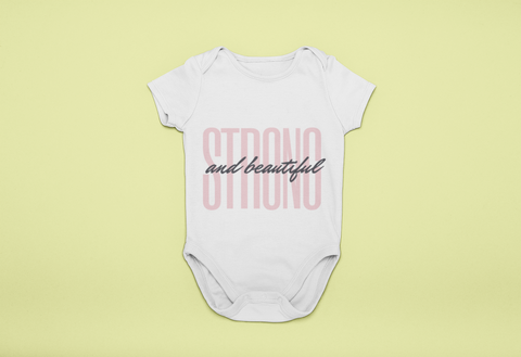 Strong & Beautiful - Baby Romper