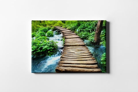 Wooden Bridge Nature View