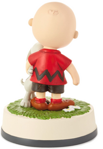 Peanuts® Charlie Brown and Snoopy Together Figurine, 4.75""
