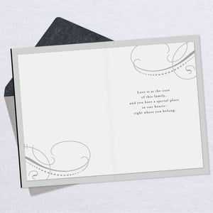 For Son-in-Law on Wedding Day Card