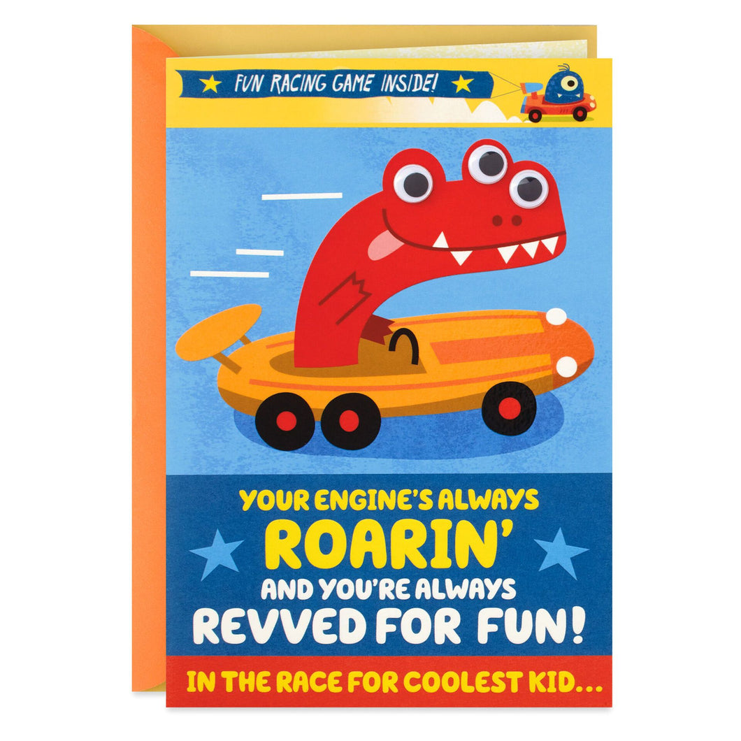 The Coolest Kid Activity Birthday Card