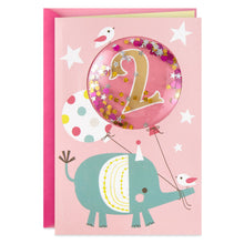 Load image into Gallery viewer, She's 2! Birthday Card