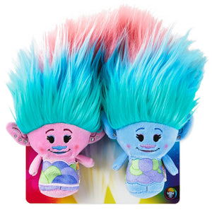 itty bittys® DreamWorks Animation Trolls World Tour Satin and Chenille Plush, Set of 2