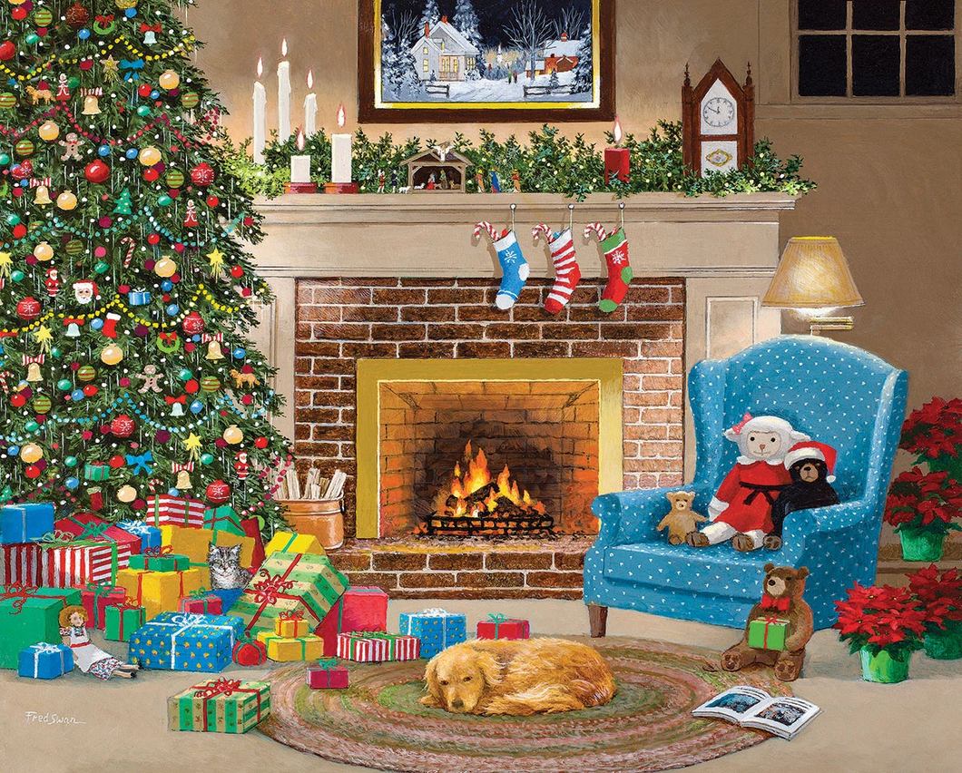 Christmas Eve (1611pz) - 1000 Piece Jigsaw Puzzle