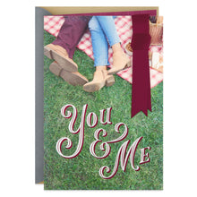 Load image into Gallery viewer, You & Me Anniversary Card for Wife