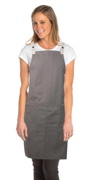 CROSS-BACK APRON