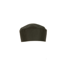 Black Double-Rimmed Chef Beanie