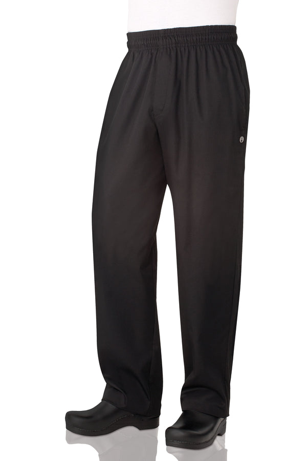 Essential Baggy Zip-fly Chef Pants