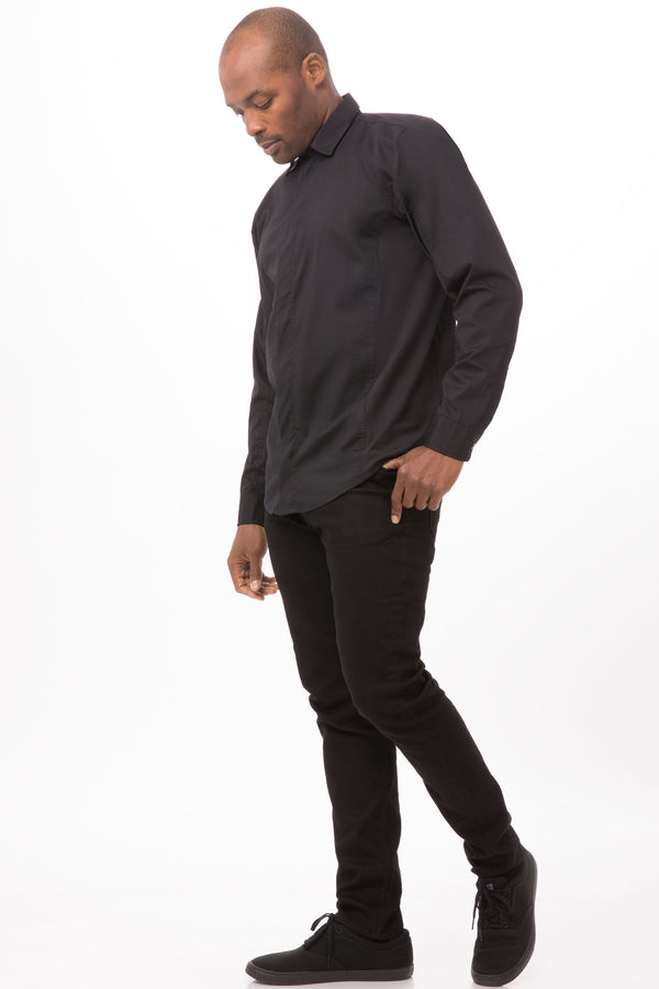 Shelby Men Zip Front Shirt