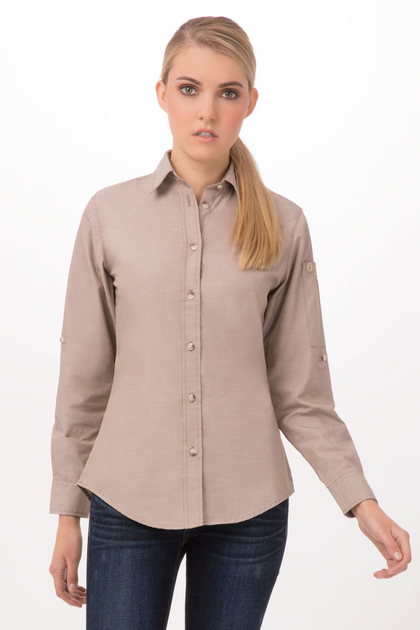 Chambray Female Shirt