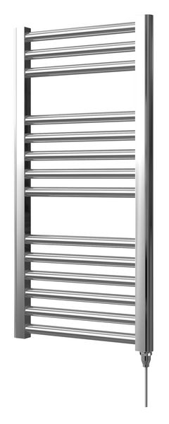 Center Cb Electric Straight Towel Warmer 800 X 400mm Chrome