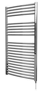 Center Cb Electric Curved Towel Warmer 1200 X 600mm Chrome