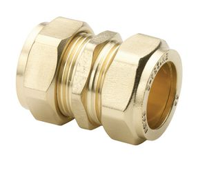 Center Cb Compression Straight Coupling 22mm