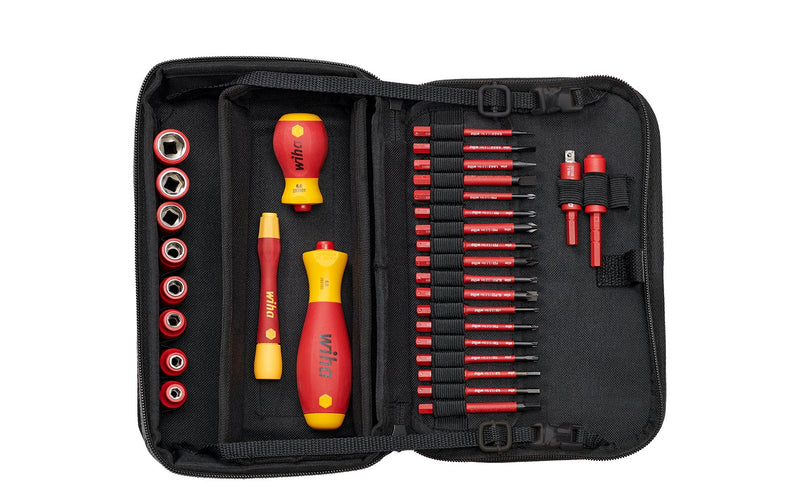 Wiha Tool set slimVario® electric mixed, 31-pcs. in functional bag (43465)