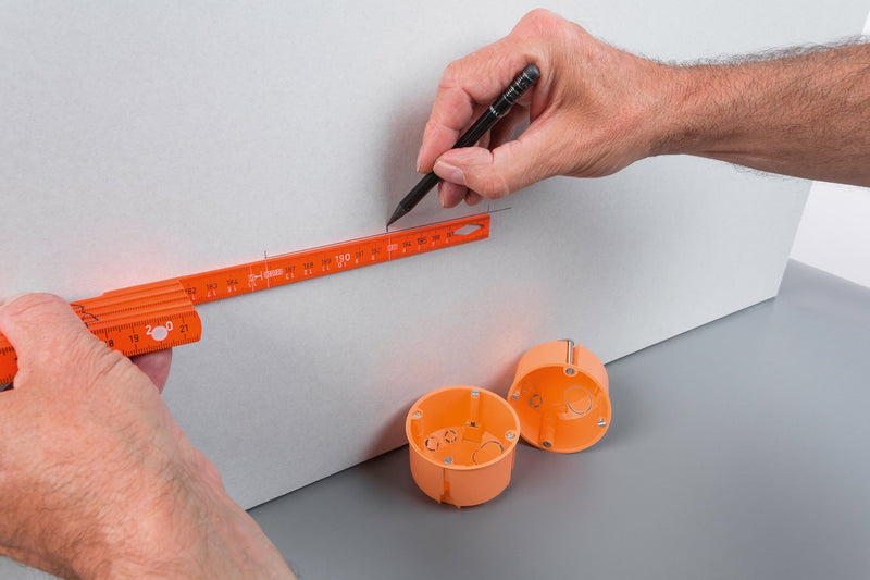 Electrician's Longlife Folding Ruler 2M