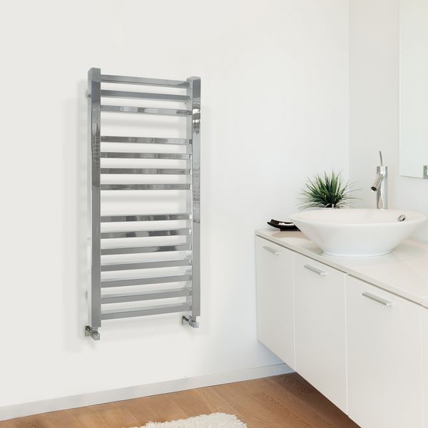 Nabis Lois Square Towel Warmer 800 X 500mm Chrome