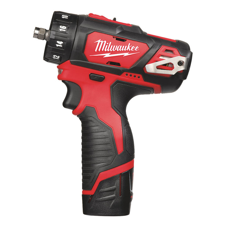 Milwaukee M12 Drill Driver Kit 4 in 1