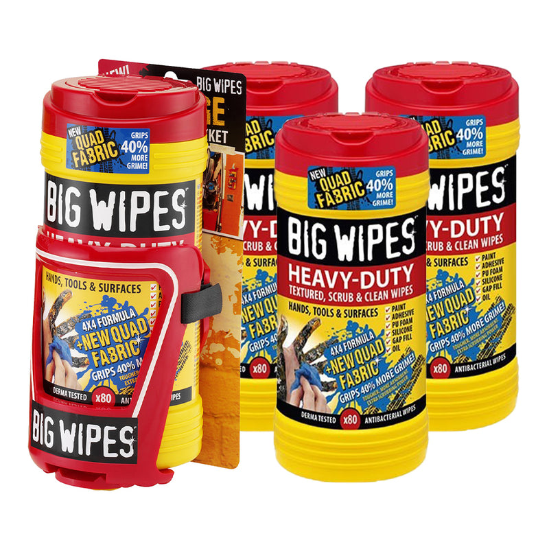 Heavy Duty Big Wipes Bundle
