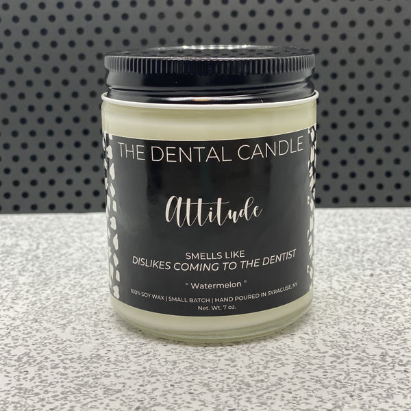 Dental Candle, Candle with Dental Saying