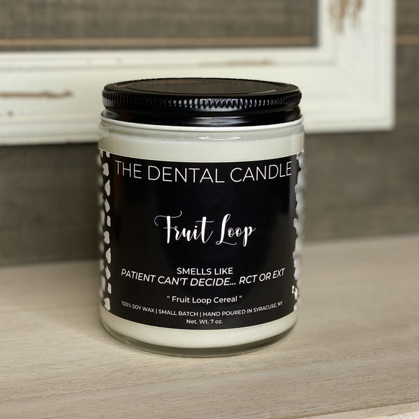Fruit Loop- Fruit Loop Cereal, The Dental Candle Collection