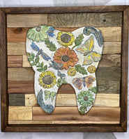 "Wooden Tooth Art ""Fields of Beauty"""