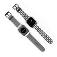RDA Black and White Tooth iWatch Band