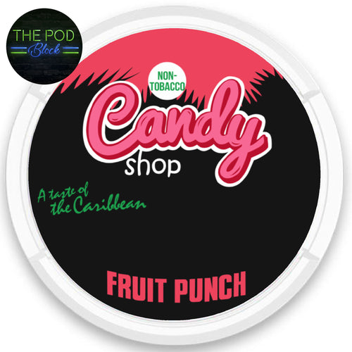 Candy Fruit Punch nicopods 80mg the pod block