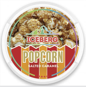 ICEBERG salted popcorn SNUS NICOPODS THE POD BLOCK