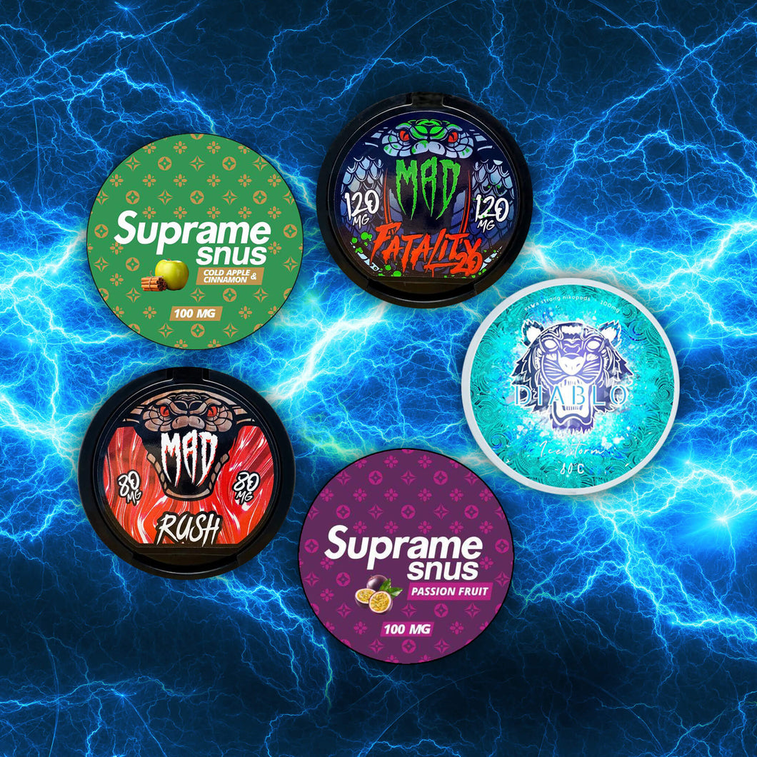 supreme mad diablo snus nicopods the pod block