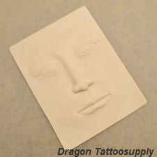 3D Silicone Practice Skin for Eyeliner, Eyebrows and Lips