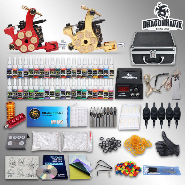 KIT: 2 Machines 40 / Inks / Apprenticeship Work / Professional Tattooists