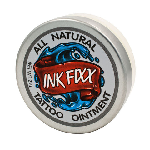 USA - INK FIXX Tattoo Aftercare Ointment Care 21g Jar