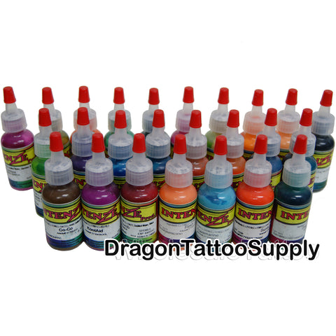 INK: Intenze Mike Demasi COLOR PORTRAIT Tattoo Set / 19 Colors / 1oz