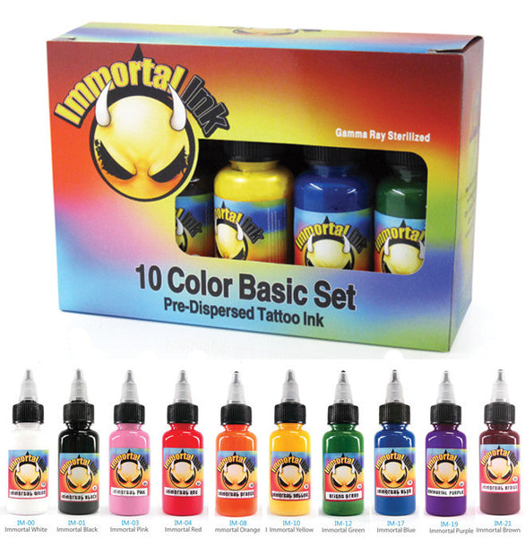 INK: Immortal 10 / Pack PRIMARY Color Set