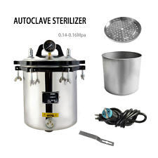 Autoclave Steam Sterilizer 4.7 Gallon (18 Liter)