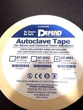 "Autoclave Sterilization Indicator Tape 3/4"" x 60 yds (1 Roll)"