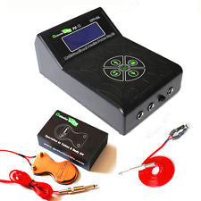 Power Supply: Dual Digital LCD, (Black), with Foot Pedal Switch