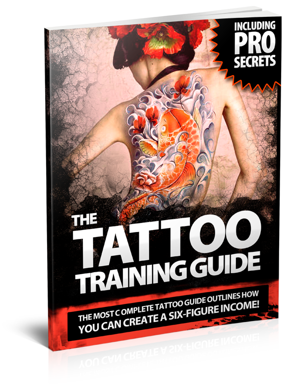The ultimate tattoo training guide ebook dragon tattoo for Tattoo artist education courses