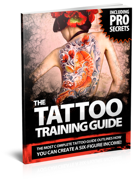 "The ""ULTIMATE"" Tattoo Training Guide eBook"
