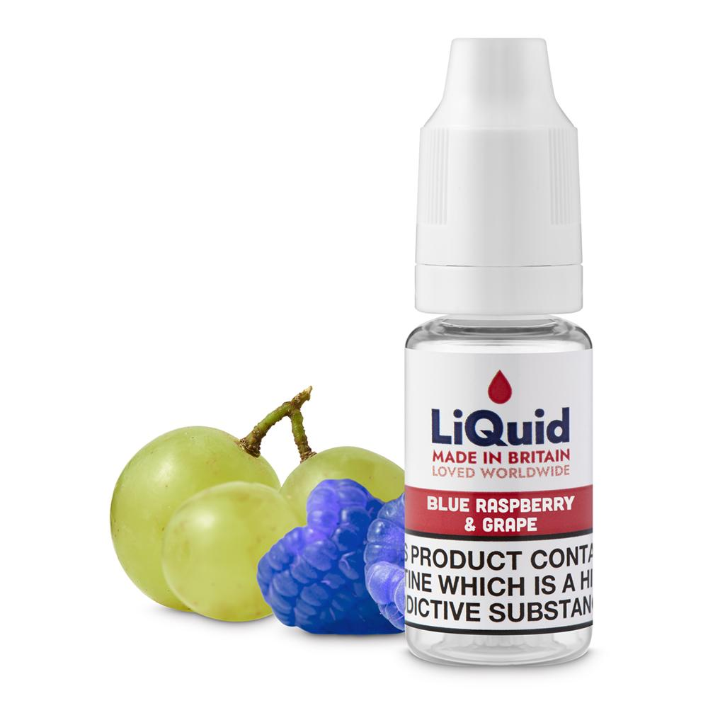 Blue Raspberry & Grape E-Liquid onepoundeliquid